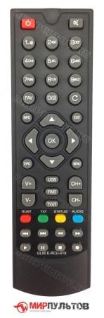 Купить пульт globo gl60, e-rcu-018 для приставок dvb-t2