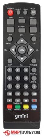 Пульт GMINI MagicBox MT2-170, MT2-168, MT2-145, NT2-140, NT2-130, NT2-120
