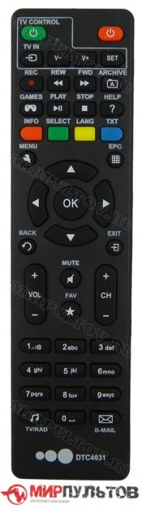 Пульт AKADO DTC4031, AKD-HD-0264