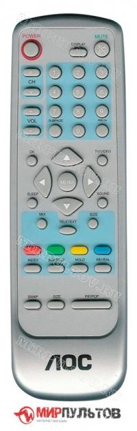 Пульт AOC TV2364W-2E, TV2054-2E/2Ea, TV1764W-2E