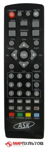 Пульт ASK A-0908
