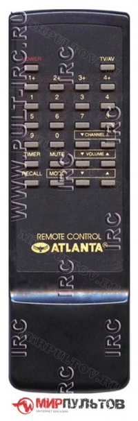 Пульт ATLANTA RC, REMOTE CONTROL