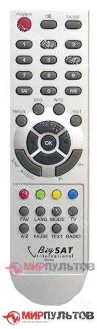 Пульт BigSAT DSR-6600CI Prima