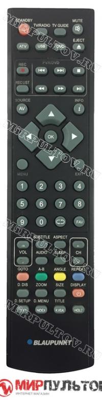 Пульт BLAUPUNKT 215/173I-GB-4B-FHBKDU-DE