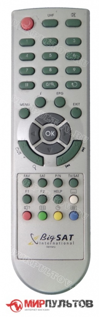 Пульт BigSAT DSR-6500, BS-S501, BS-S780