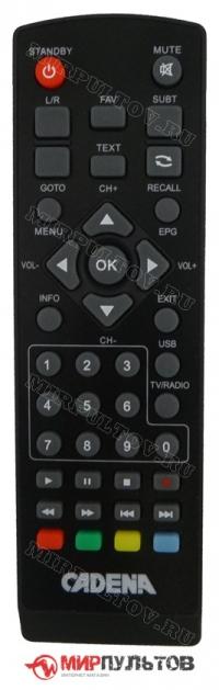 Пульт CADENA HT-1110, HT-1290, HT-1658, HT-1302