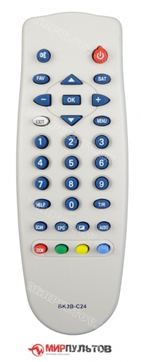 Пульт CHANGHONG DVB-S6500N, DVB-S9000N, BK3B-C24
