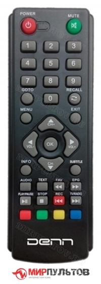 Пульт DENN DDT101 DVB-T2