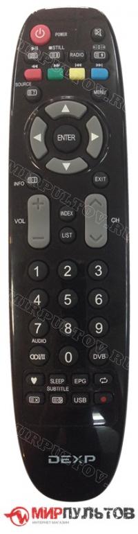 Пульт DEXP 24A7000, 28A3000, 32A3200, 40A7000, 50A7000
