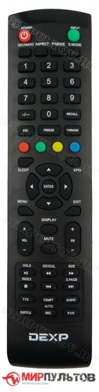 Пульт DEXP F40B7100K, F40C7100K, F43C7100K