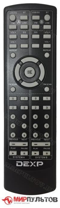 Пульт DEXP V800, V700