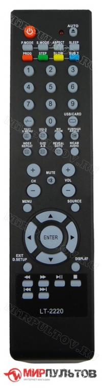 Пульт DEX LT-2220, LT-3250, LT-2611, LT-3211