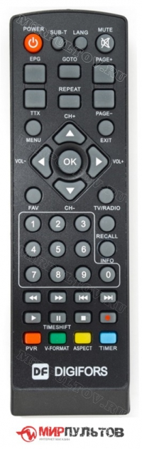 Пульт DIGIFORS HD-70