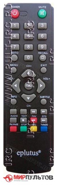 Пульт EPLUTUS DVB-118T