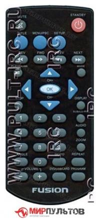 Пульт FUSION JJ-1106A, FPD-7106T, FPD-9106T, FPD-10106T