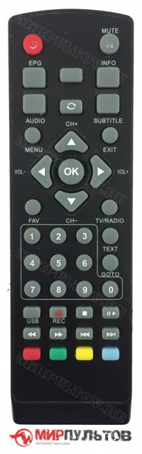 Пульт EPLUTUS DVB-137T, DVB-138T