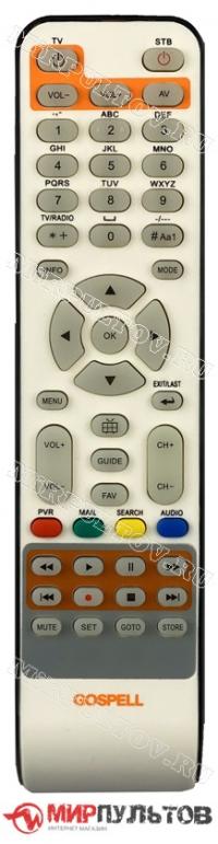 Пульт GOSPELL DVB-C HD