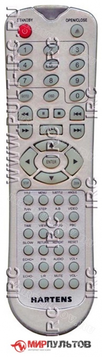 Пульт HARTENS DV-P6863W