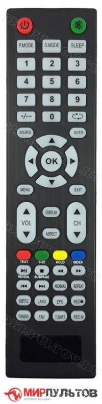 Пульт HIBERG  43 FTV-QTS, 40 FTV-QTS, 32 HTV-QTS