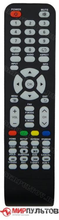 Пульт HIBERG 55 4KTV-QTS, 50 4KTV-QTS, 43 4KTV-QTS