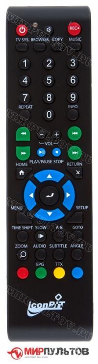 Пульт IconBit HDR12DVBT, HDR21DVD