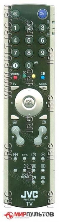 Пульт JVC RM-C1808