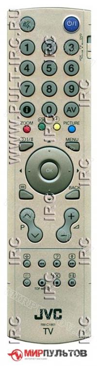 Пульт JVC RM-C1861
