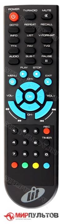 Пульт LIT 1420 PVR USB HDMI, 1410 PVR USB HDMI