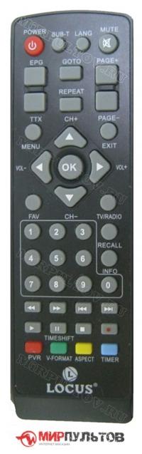 Пульт LOCUS DR-104HD, DR-103HD