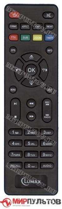 Пульт LUMAX DV-3210HD, DV-3205HD, DV-2118HD, DV-2115HD, DV-2114HD, DV-2108HD, DV-2107HD