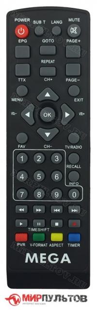 Пульт MEGA T-19, HD-777, HD-888
