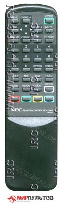 Пульт NEC RD-1106E