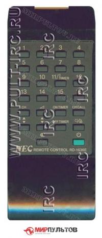 Пульт NEC RD-1636E