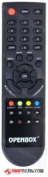 Пульт OPENBOX S3 MICRO HD
