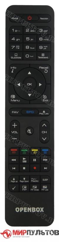 Пульт OPENBOX SX4 HD, SX6 HD