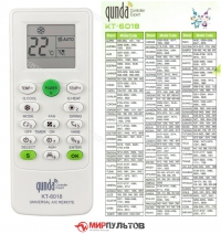 Пульт для кондиционера универсальный QUNDA KT-6018
