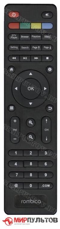 Пульт ROMBICA SMART BOX DVB-T2, SBD-T2001