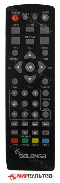Пульт SELENGA HD850T2, T2-1000, HD920, T80