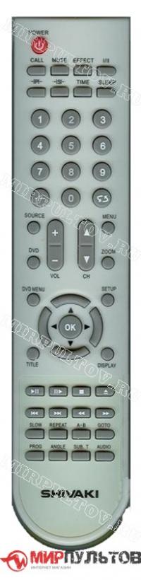 Пульт SHIVAKI BT-0441E, LCD-2610DVD, LCD-3210DVD