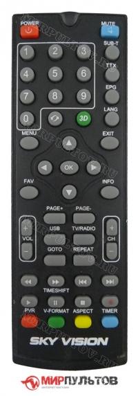 Пульт SKY VISION T2603 HD ВАРИАНТ 1