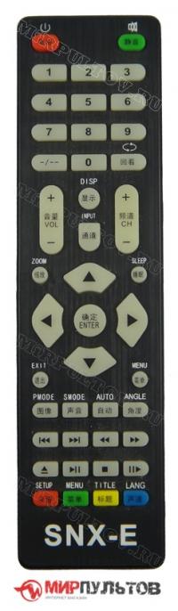 Пульт SONNIXING SNX-E, 4078 LED HDTV, SNX-D0EAB