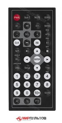 Пульт SOUNDMAX SM-CMD2024, SM-CMD3010, SM-CMD3002, SM-CMD3001