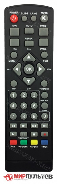 Пульт SELENGA HD920 VAR2 (00FF-59)