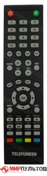 Пульт TELEFUNKEN TF-LED32S54T2, TF-LED28S42T2, TF-LED24S12T2