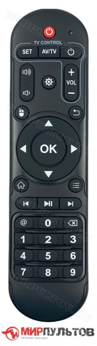 Пульт TV BOX H96 MAX