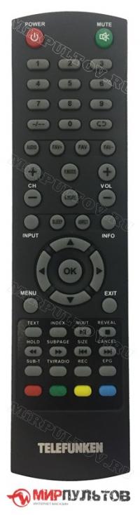 Пульт TELEFUNKEN TF-LED28S48T2, TF-LED40S48T2