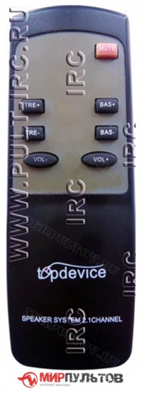 Пульт TopDevice TDE-265/2.1, TDE-265