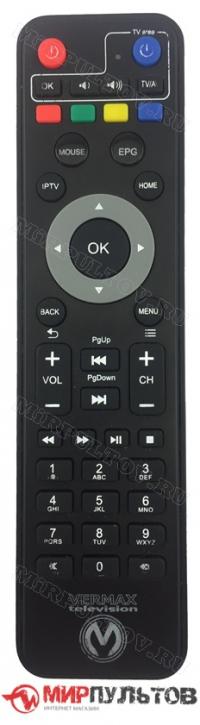 Пульт VERMAX UHD300X, UHD250X, UHD200X
