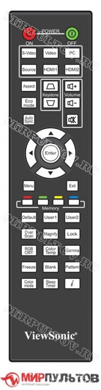 Пульт ViewSonic Pro9000