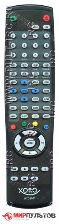 Пульт XORO HTC2001